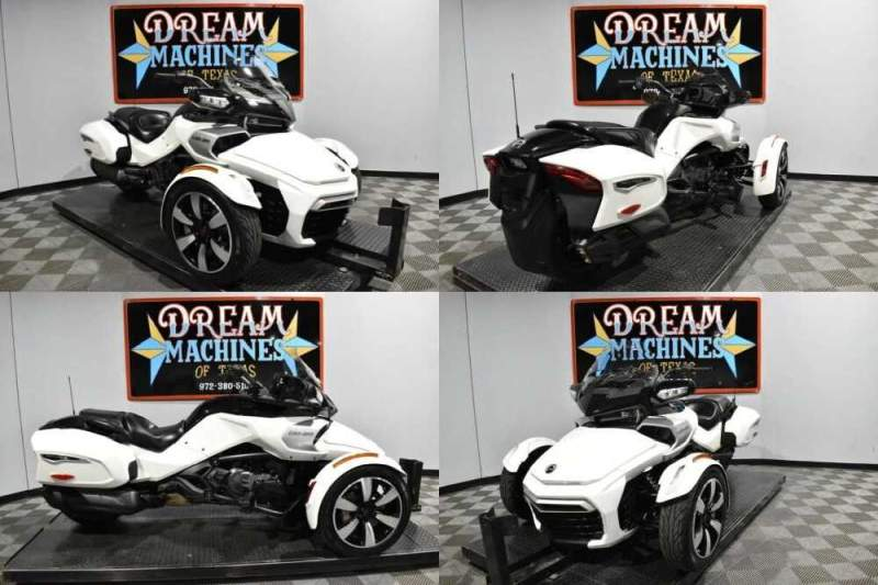 2018 Can-Am Spyder F3-T SE6 White for sale craigslist photo