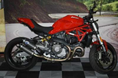 2018 Ducati Monster 821 Red Red for sale craigslist
