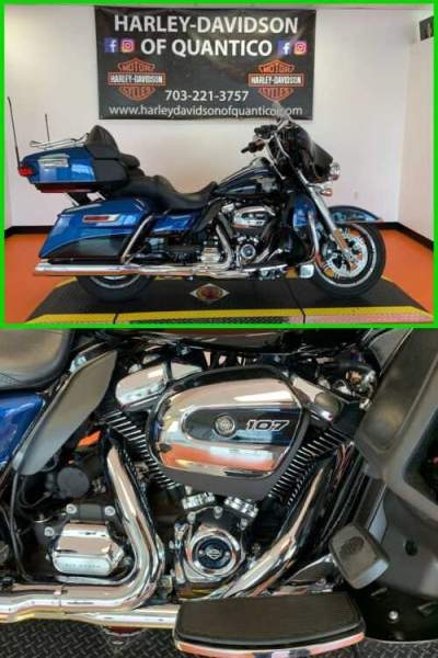 2018 Harley-Davidson 115Th Anniversary Ultra Limited 115th Anniversary Legend Blue / Vivid Black for sale craigslist photo