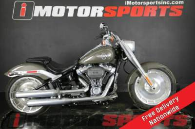 2018 Harley-Davidson FLFBS - Softail Fat Boy 114 Gray for sale