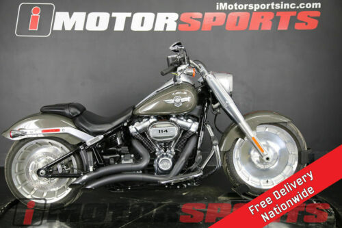 2018 Harley-Davidson FLFBS - Softail Fat Boy 114 Gray for sale craigslist