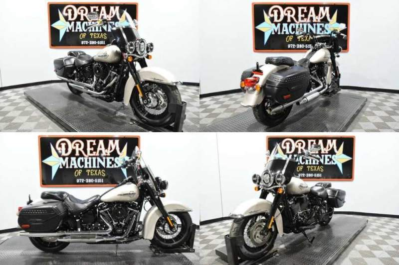 2018 Harley-Davidson FLHC - Softail Heritage Classic Managers Special Silver for sale craigslist