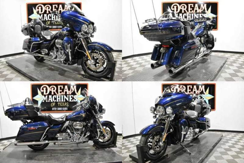 2018 Harley-Davidson FLHTKSE - Screamin Eagle Limited CVO 115th Anniver Blue for sale craigslist