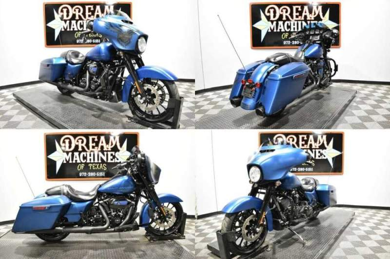 2018 Harley-Davidson FLHXS - Street Glide Special 115th Anniversary Blue for sale craigslist
