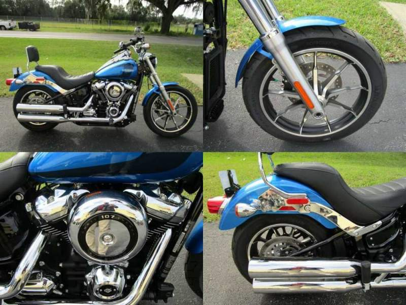 2018 Harley-Davidson Softail Low Rider Blue for sale