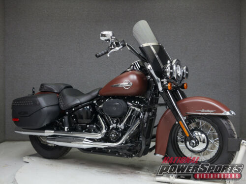 2018 Harley-Davidson Softail FLHCS HERITAGE CLASSIC WABS RED IRON DENIM for sale craigslist photo