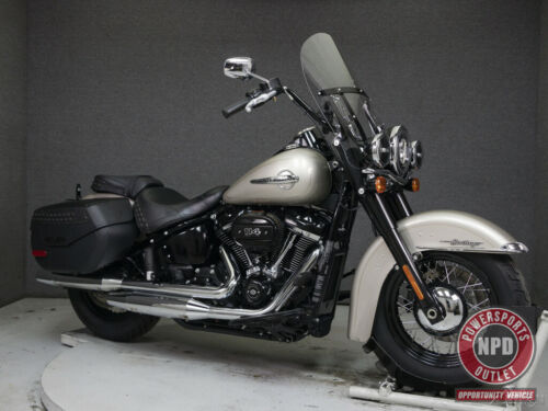 2018 Harley-Davidson Softail FLHCS HERITAGE CLASSIC WABS SILVER FORTUNE for sale craigslist photo