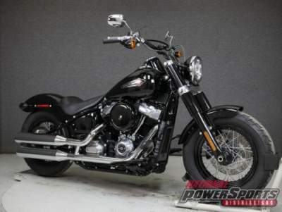 2018 Harley-Davidson Softail FLSL SLIM VIVID BLACK for sale craigslist photo