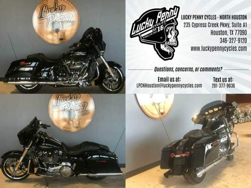 2018 Harley-Davidson Street Glide Base FLHX Black for sale craigslist