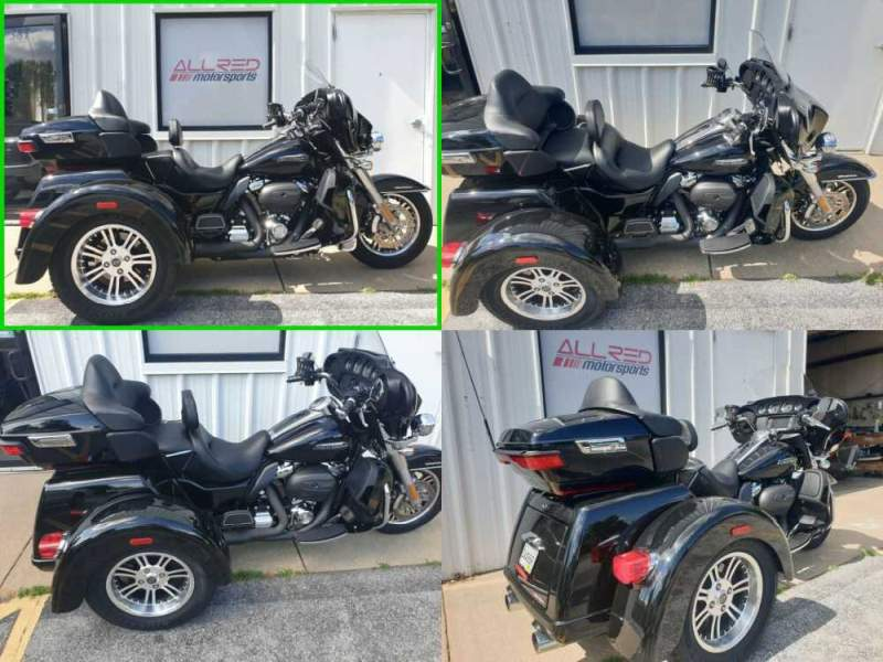 2018 Harley-Davidson Touring Tri Glide Ultra - Vivid Black Option  for sale craigslist photo