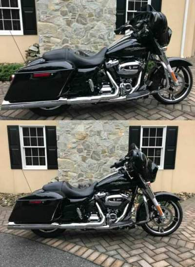 2018 Harley-Davidson Touring Black for sale craigslist photo