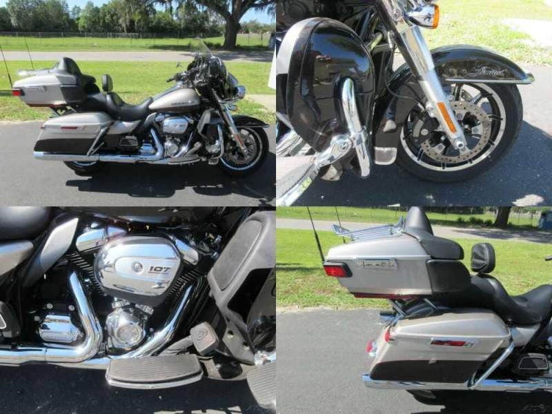 2018 Harley-Davidson Touring Electra Glide® Ultra Limited Gray for sale