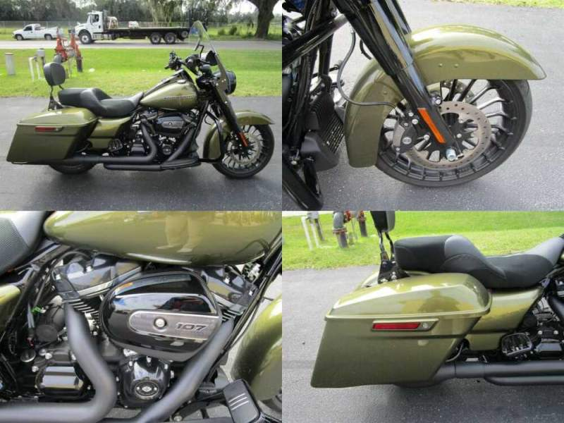 2018 Harley-Davidson Touring Road King® Special Green for sale