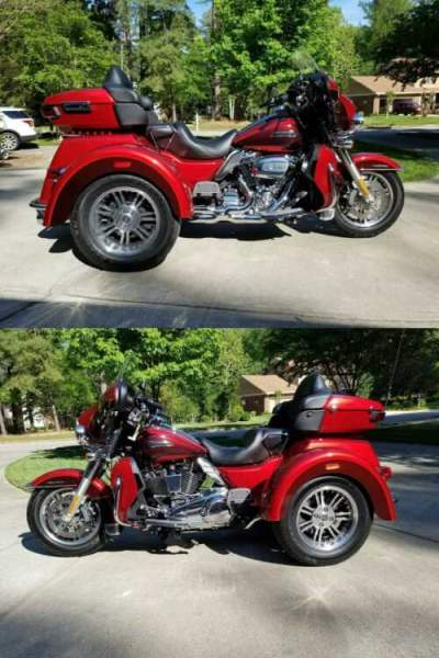 2018 Harley-Davidson Touring Red for sale craigslist photo