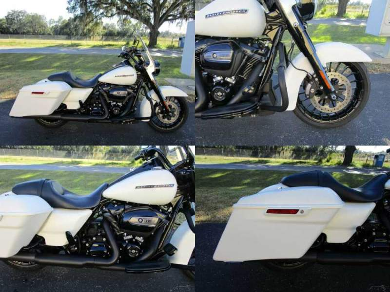 2018 Harley-Davidson Touring Road King® Special White for sale