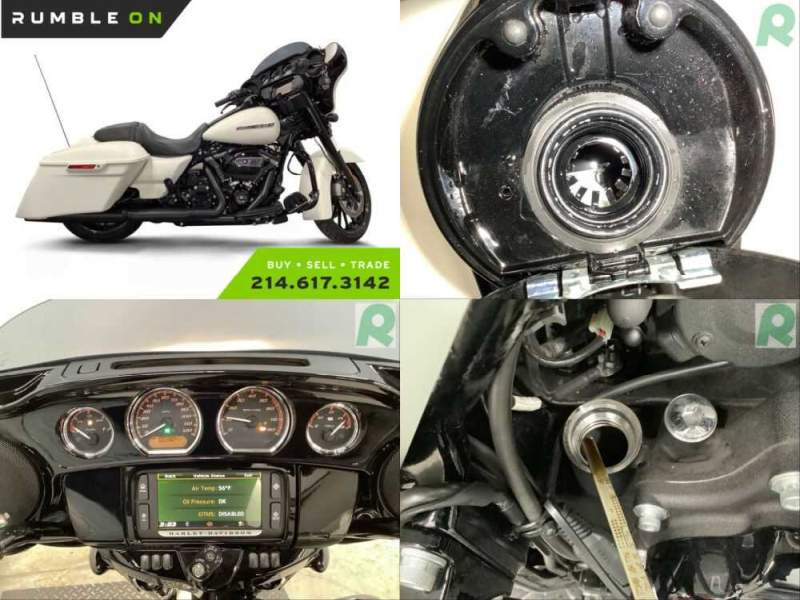2018 Harley-Davidson Touring CALL (877) 8-RUMBLE White for sale craigslist photo
