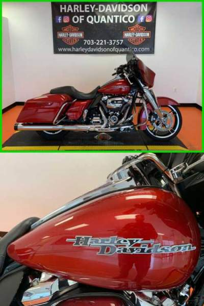 2018 Harley-Davidson Touring Wicked Red for sale craigslist photo