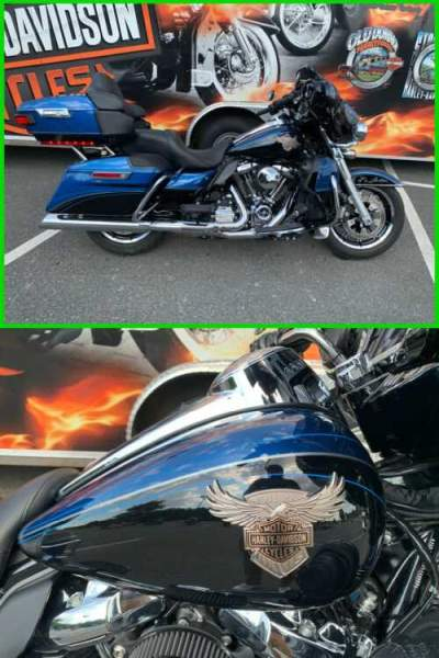 2018 Harley-Davidson ULTRA LIMITED ANNIVERSARY LEGEND BLUE / VIVID BLACK for sale craigslist