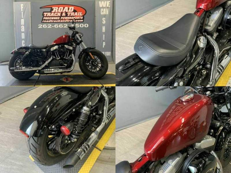 2018 Harley-Davidson XL1200X - Sportster® Forty-Eight® Red for sale craigslist photo