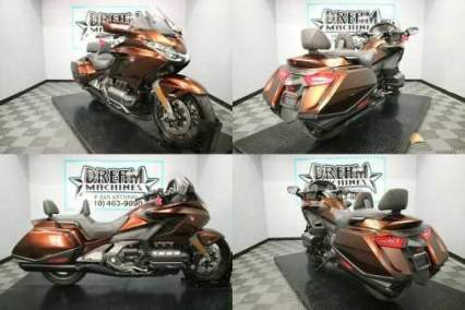 2018 Honda Gold Wing Automatic DCT Pearl Stallion Brown Brown for sale craigslist