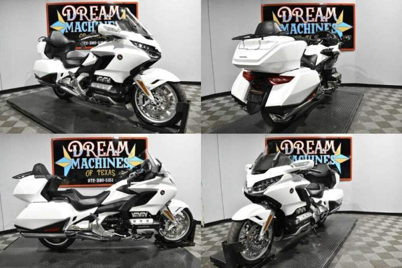 2018 Honda Gold Wing Tour DCT - GL1800D White for sale