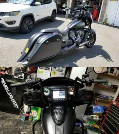 2018 Indian 2018 chieftain dark horse Black for sale