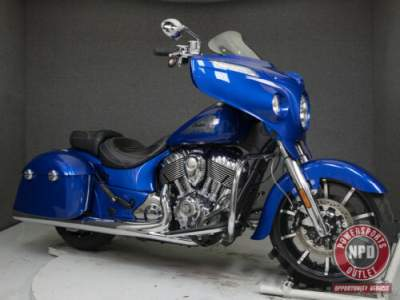 2018 Indian CHIEFTAIN LIMITED W/ABS BRILLIANT BLUE for sale