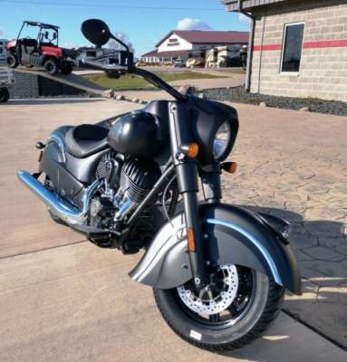2018 Indian Chief® Dark Horse® ABS Black for sale craigslist photo