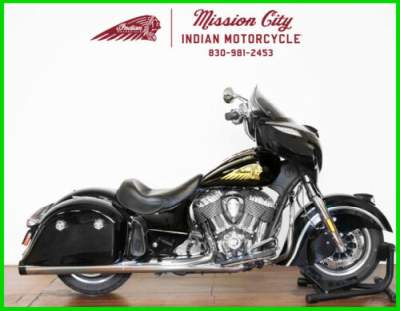2018 Indian Chieftain Classic ABS Thunder Black Thunder Black for sale