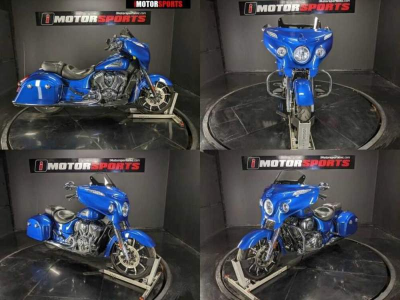 2018 Indian Chieftain Limited ABS Brilliant Blue Blue for sale craigslist photo