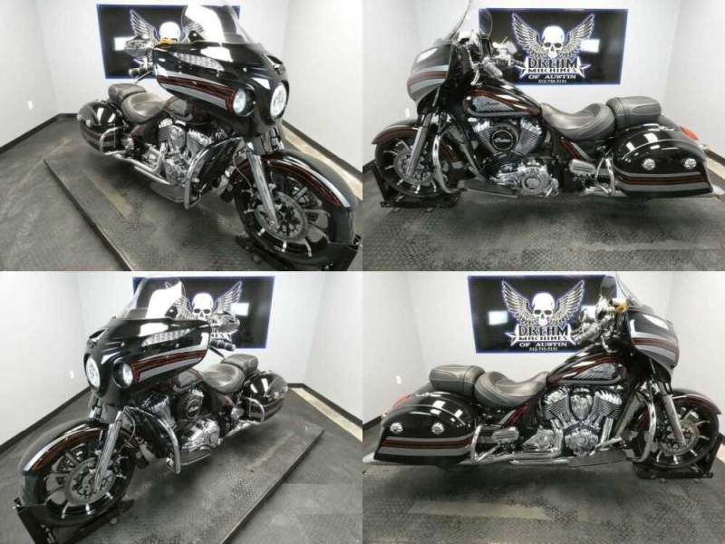 2018 Indian Chieftain Limited ABS Thunder Black Pearl with Gra Black for sale
