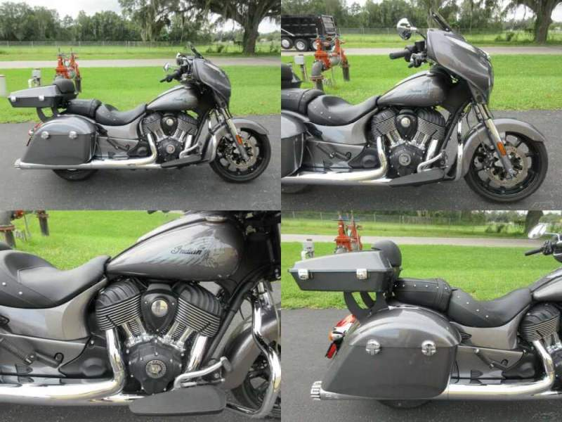 2018 Indian Chieftain Gray for sale craigslist photo