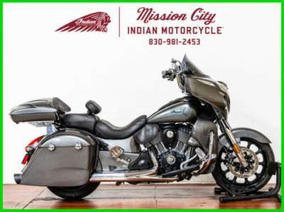 2018 Indian Chieftain ABS Steel Gray Steel Gray for sale