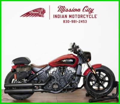 2018 Indian Scout Bobber Indian Motorcycle Red Indian Red for sale