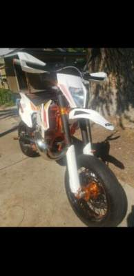 2018 KTM 300 xcw six days White for sale craigslist photo