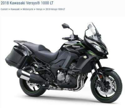 2018 Kawasaki KLZ1000 Black for sale craigslist