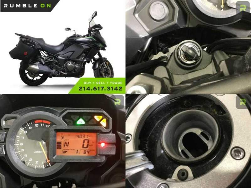 2018 Kawasaki KLZ1000BJFX VERSYS 1000 LT CALL (877) 8-RUMBLE Black for sale