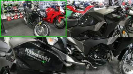 2018 Kawasaki Versys-X 300 Black for sale craigslist photo