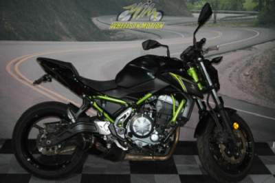 2018 Kawasaki Z650 ABS Black for sale