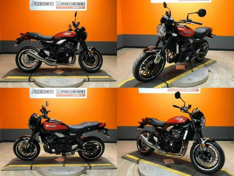 2018 Kawasaki Z900RS Red for sale