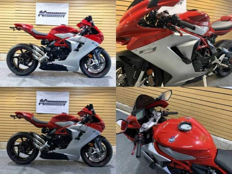 2018 MV Agusta F3 800 Red for sale craigslist photo