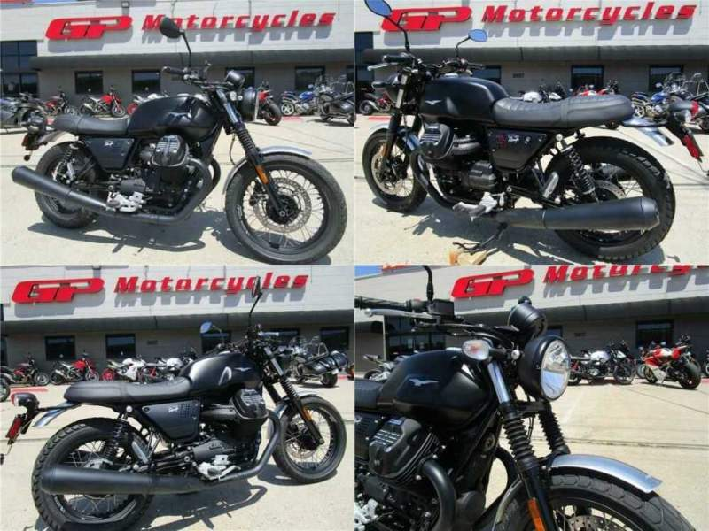 2018 Moto Guzzi V7 III Rough Black Black for sale craigslist