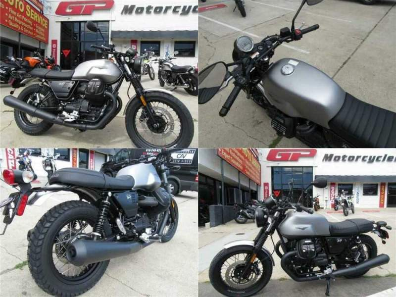 2018 Moto Guzzi V7 III Rough Gray for sale craigslist