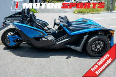 2018 Polaris Slingshot Slingshot SLR Electric Blue BLU for sale craigslist photo