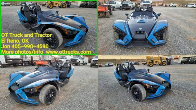 2018 Polaris SLINGSHOT SLR Blue for sale craigslist photo