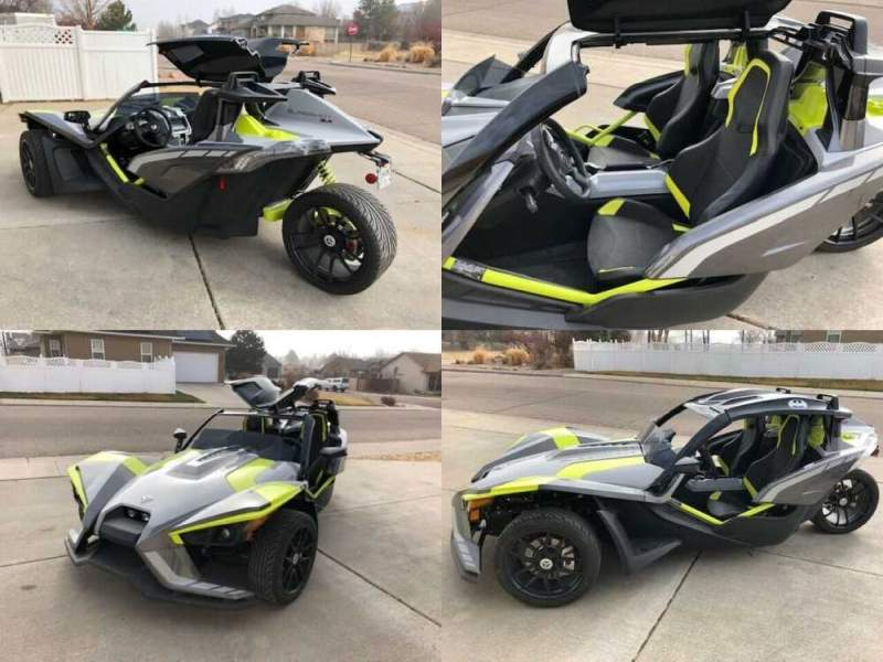 2018 Polaris SLR LE Silver for sale craigslist photo