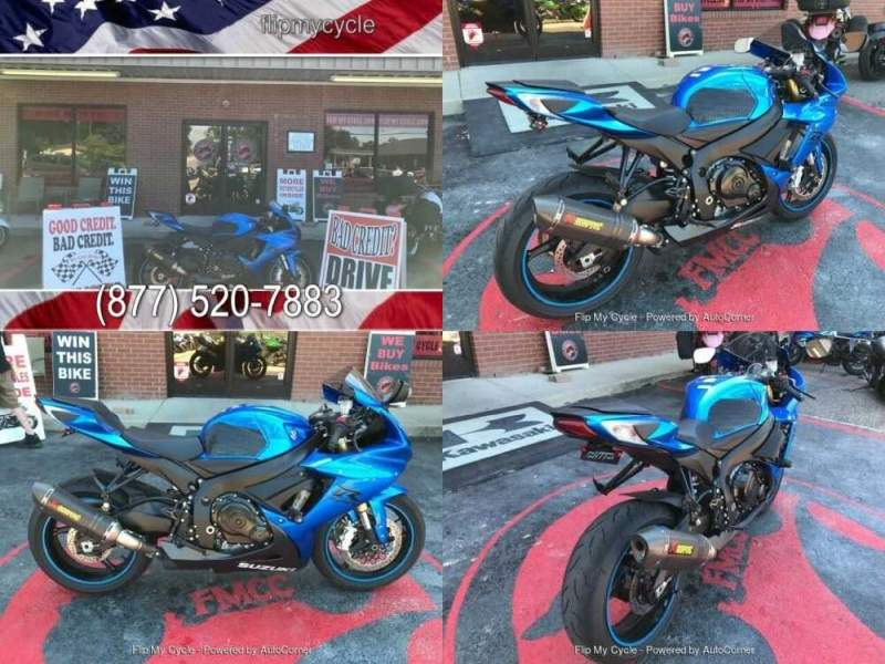 2018 Suzuki GSX-R750L1 Blue for sale craigslist photo