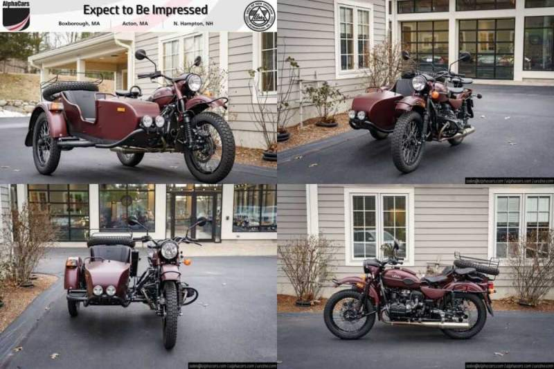 2018 Ural Gear Up Burgundy Satin Burgundy for sale