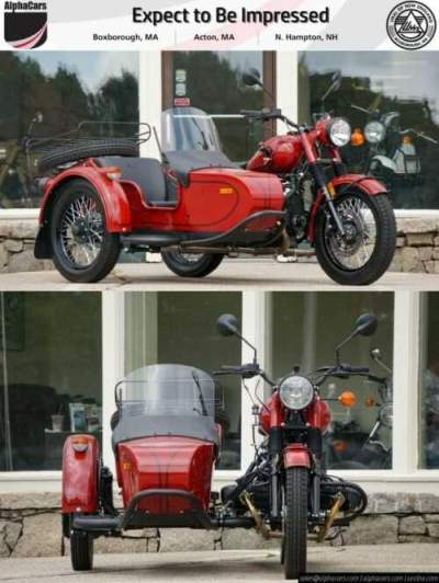 2018 Ural Retro Maroon Maroon for sale