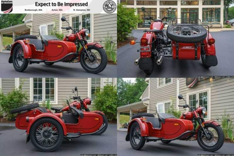 2018 Ural Retro Maroon Custom Maroon for sale craigslist